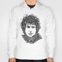dylan Hoodies featuring Bob Dylan by The Curly Whirl Girly.