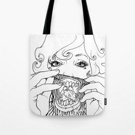 Sweet Rotten Scream Tote Bag