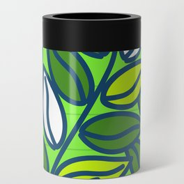 Modern Green Leaves Can Cooler
