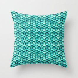 Scale Away with Me Throw Pillow