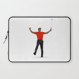 Tiger Woods Masters Champ (White) Laptop Sleeve