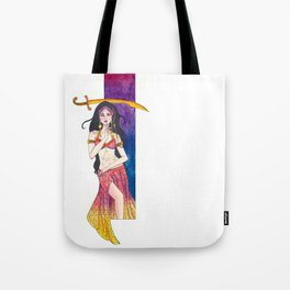 B is for Belly Dancer Tote Bag