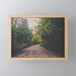 Mystical paradise Framed Mini Art Print