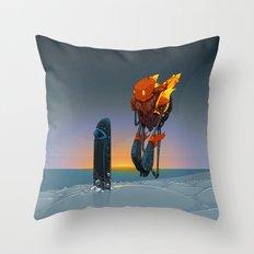 Phobos Throw Pillow
