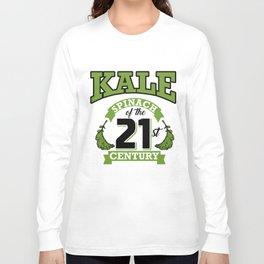 Kale Spinach of the 21st Century Kale Art for Vegans Light Long Sleeve T-shirt