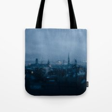 Rainy Rouen Tote Bag