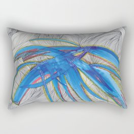 Blue Devils Rectangular Pillow