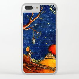 Lonely fairy Clear iPhone Case