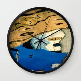 Water Painting Wall Clock