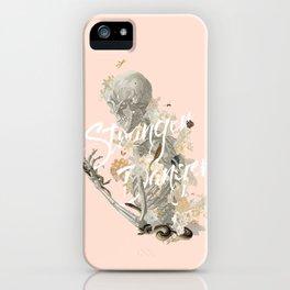 Stranger Danger I iPhone Case