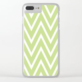 Simplified motives pattern 18 Clear iPhone Case
