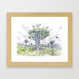 La Citta Arborea! Framed Art Print