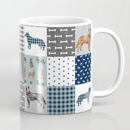 Australian Cattle Dog cheater quilt pattern dog lovers by pet friendly Kaffeebecher
