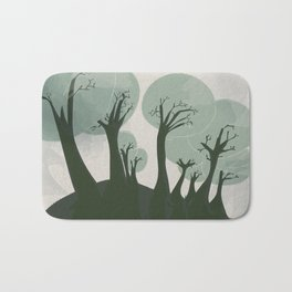 Trees 3 Bath Mat