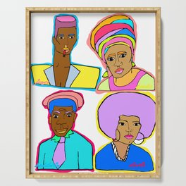 queer black lives matter  Serving Tray