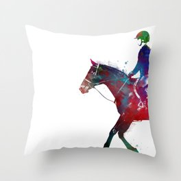 sport horsemanship #horsemanship #sport Throw Pillow