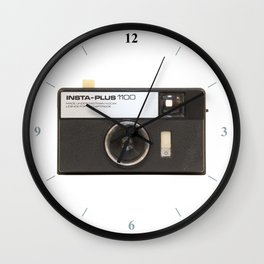 Instamatic Camera Wall Clock