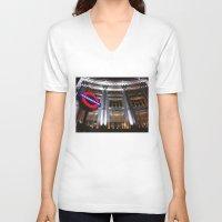 velvet underground V-neck T-shirts featuring Underground by Efua Boakye