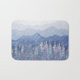 Mountain Lupine  Bath Mat