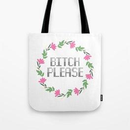 Sassy Cross Stitch Tote Bag