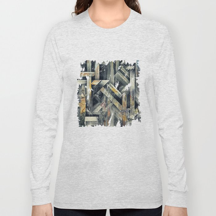 Lattice Long Sleeve T-shirt