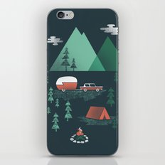 Pitch a Tent iPhone & iPod Skin