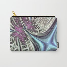 Cosmic Orchid - Fractal Art Carry-All Pouch