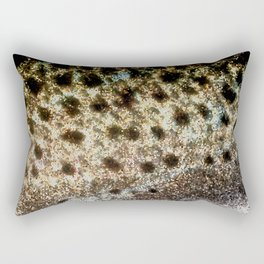 Trout Scales, Fish Scales II x Stained Glass Rectangular Pillow