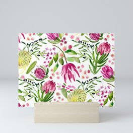 Protea Flower Bloom Mini Art Print
