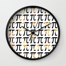 Pizza Funny Math Pun Pi Day Gift Math Science Lover Pi day Wall Clock
