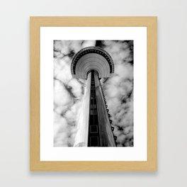 Heavenly view Framed Art Print