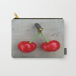 Twin Cherries Carry-All Pouch