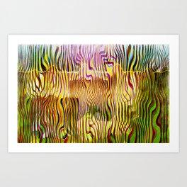 Abstracto Cientico Art Print