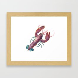 Lobster Framed Art Print