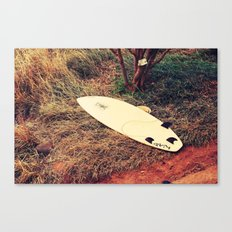 surfboard- Maui Canvas Print