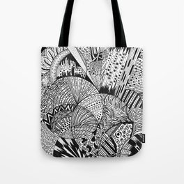 The Piece Tote Bag