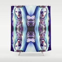 Rose Warriors Shower Curtain