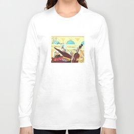 N for Nightingale - Alphabet City Long Sleeve T-shirt