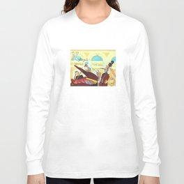 N for Nightingale - Alphabet City Long Sleeve T-shirt
