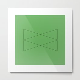 #52 Entity – Geometry Daily Metal Print