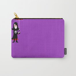Little Vampire Girl Carry-All Pouch