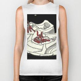 Sneakers_BlackandRed Biker Tank