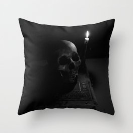 The Book of the Dead Throw Pillow