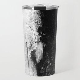 Monochromatic Wood Travel Mug