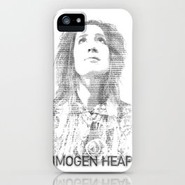 IMOGEN HEAP iPhone Case