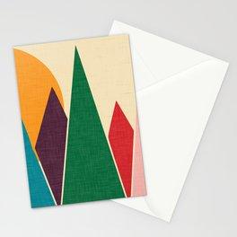 solar mountain #homedecor #midcentury Stationery Cards