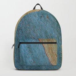 Eucalypus Turquoise Wood Backpack