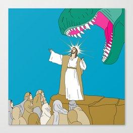 Jesus, Etc. Canvas Print