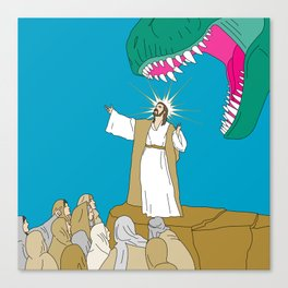 Jesus, Etc. Canvas Print