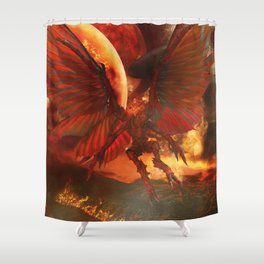 The Power of Aliens Shower Curtain